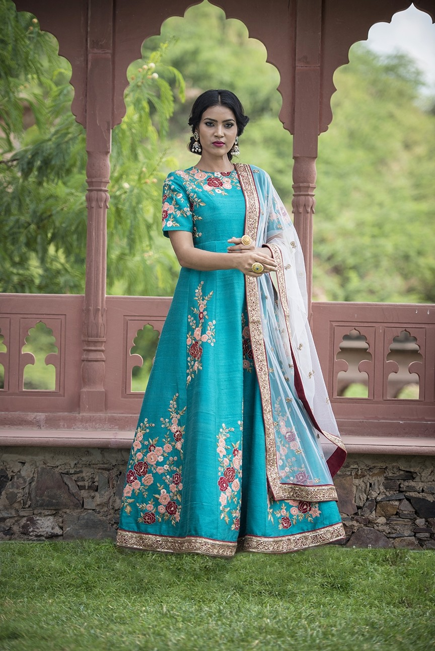 Florets of Love Anarkali