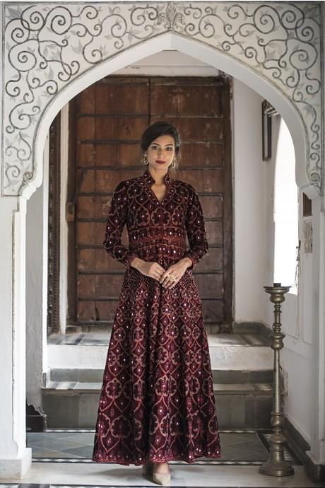 Sangria Shisha Gown