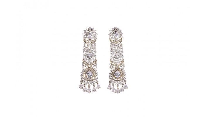 Crystalline Waterfall Earrings