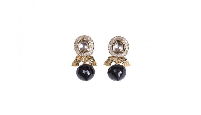 Royal Onyx Drop Earrings