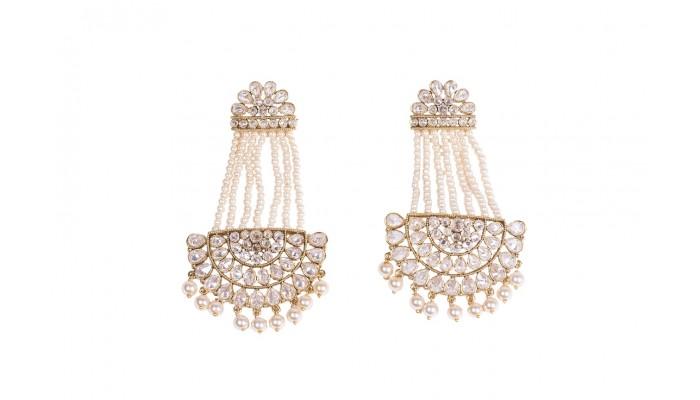 Pearl Affair Statement Earrings